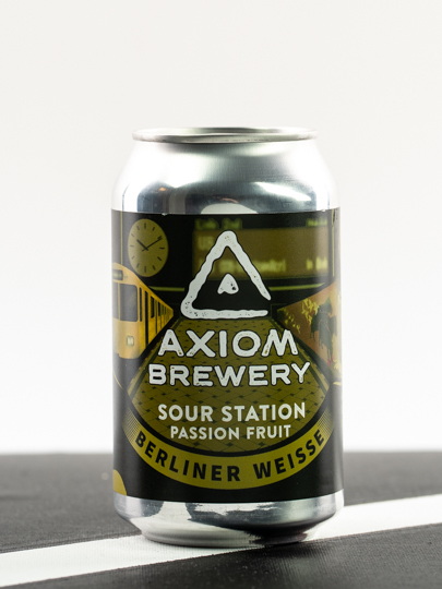 Axiom Sour Station Passion Fruit 0,33l