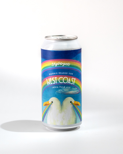 Stigbergets Double Headed DDH West Coast IPA 0,44l